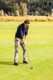 Парень гольфа Стоковое Изображение RF
