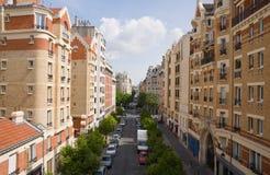 парижская улица Стоковое Фото