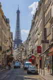 Парижская улица Стоковые Изображения RF