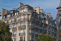 Парижский дом. Стоковые Изображения