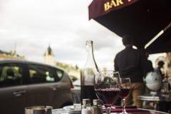 Парижское кафе стоковая фотография