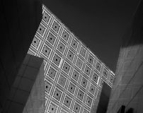 Париж: Арабский институт мира Стоковое фото RF