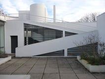 Париж - вилла Savoye (патио крыши) Стоковое Фото