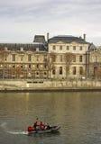 Париж во времени осени Стоковое фото RF