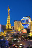 Париж в Лас-Вегас стоковое фото rf