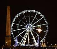 Париж в ноче стоковая фотография rf