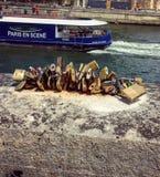 Париж и сцена Стоковое фото RF