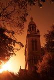 Париж, Ла Sainte-Энн de Butte-вспомогательное-Cailles Стоковое Фото