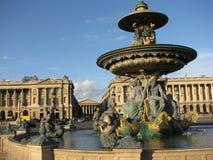 Париж - Место de Ла конкорд Стоковая Фотография RF