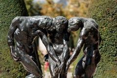 Париж - музей Rodin стоковые фото