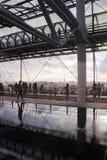 Париж на Pompidou Стоковое фото RF