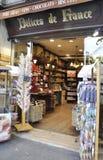 Париж, 18-ое августа - dainty магазин на конкорде в Париже Стоковые Изображения RF