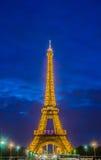 ПАРИЖ - 12-ОЕ ИЮЛЯ 2013: Эйфелева башня 12-ого июля Стоковые Изображения RF