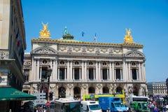 Париж - 11-ое июля 2013: Опера Парижа 11-ого июля внутри Стоковое Изображение