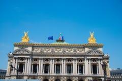 Париж - 11-ое июля 2013: Опера Парижа 11-ого июля внутри Стоковые Фотографии RF
