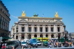 Париж - 11-ое июля 2013: Опера Парижа 11-ого июля внутри Стоковое Изображение RF