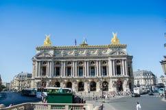 Париж - 11-ое июля 2013: Опера Парижа 11-ого июля внутри Стоковая Фотография RF