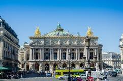 Париж - 11-ое июля 2013: Опера Парижа 11-ого июля Стоковое фото RF