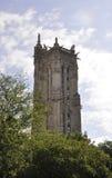 Париж, 17-ое июля: Святой Jacques башни от Парижа в Франции Стоковые Фотографии RF