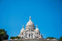 Париж - 12-ое сентября 2012: Basilique du Sacre Coeur Стоковые Фото