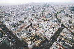 Париж от montparnese Стоковое Изображение