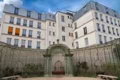 Париж, сад Анны Франк стоковая фотография rf
