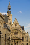 Париж Святой Etienne du Mont Стоковые Фото
