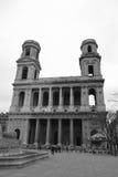 Париж - Святой Sulpice стоковые изображения