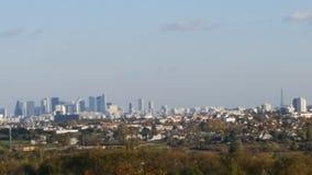 Париж с природой Стоковое Изображение RF