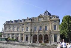 Париж, Трибунал de Коммерция стоковые фотографии rf