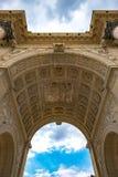 Париж Триумфальная Арка du Carrousel 1 стоковые фотографии rf