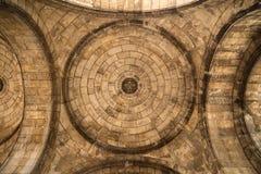 Париж, Франция, 26-ое марта 2017: Интерьер римско-католической церков и небольшой базилики Sacre-Coeur Стоковая Фотография