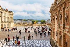 ПАРИЖ, ФРАНЦИЯ - 12-ОЕ СЕНТЯБРЯ 2015: Дворец Версаль Стоковые Фотографии RF