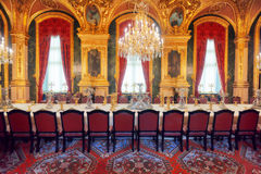 ПАРИЖ, ФРАНЦИЯ - 3-ЬЕ ИЮЛЯ 2016: Квартиры Наполеона III Ла Стоковая Фотография RF