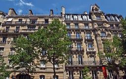 Париж - французская архитектура Стоковые Фотографии RF