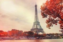 Париж, Эйфелева башня Стоковое Изображение RF