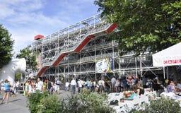 Париж, 17,2013-Georges -го центр в августе Pompidou Стоковое Фото
