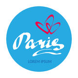 Париж love-14 Стоковое фото RF