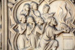 Париж - Sainte-Chapelle Стоковые Фото