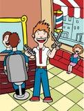 парикмахерская Стоковая Фотография RF