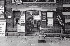 парикмахер Улиц-стороны стоковое фото