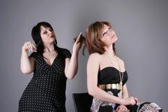 парикмахер шальной Стоковые Изображения RF