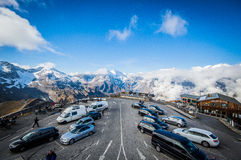 Парковать в небе Стоковое Изображение RF