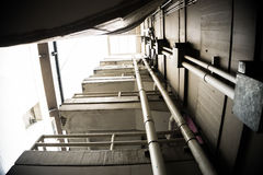 Парковать лестниц стоковое фото rf