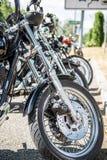 Парковать мотоциклов стоковые фотографии rf