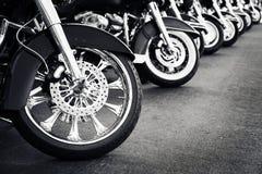 Парковать мотоциклов стоковое фото rf