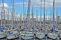Парковать яхт стоковая фотография rf
