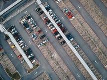 Парковка стоковая фотография