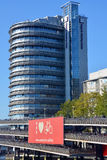 Парковки центра и велосипеда встречи Regardz Стоковое фото RF