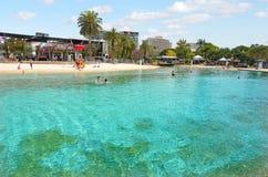 Парковые насаждения южного берега - Брисбен Австралия Стоковые Фото